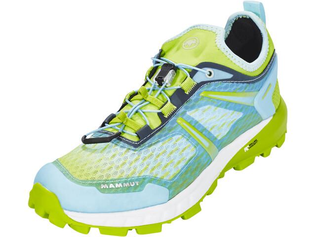 Mammut Sertig Low Løbesko Damer grøn/blå (2019) | Running shoes